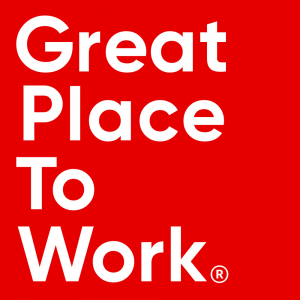 It's Great Working with us: we are a certified Great Place to Work®.